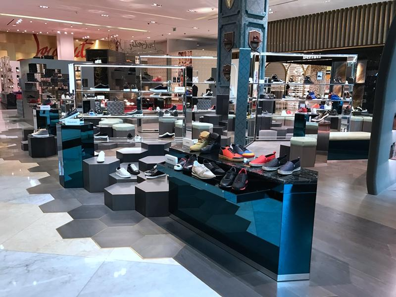 Modern Design Footwear Shop Interior Design OY-SSD025