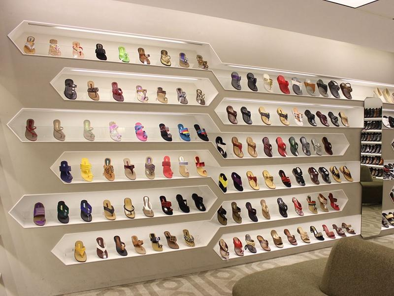 Shoes Shop Fixture Shoe Display Shelves OY-SSD010