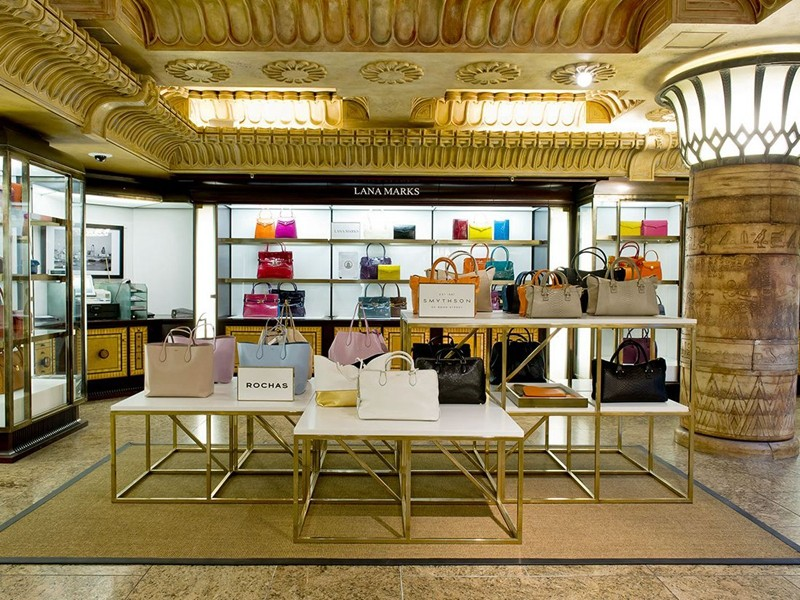 OUYEE chic shoe shop interior design eye-catching for business-8
