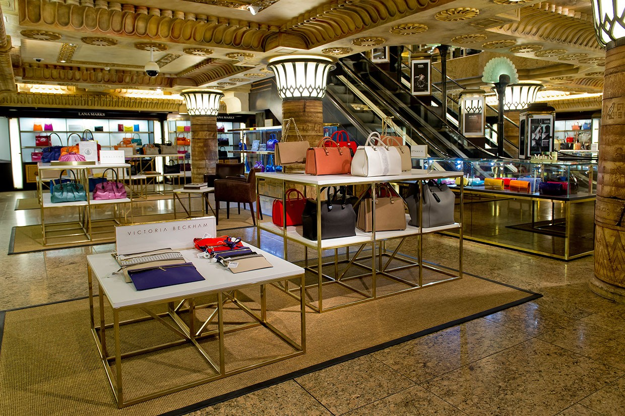 OUYEE chic shoe shop interior design eye-catching for business-4
