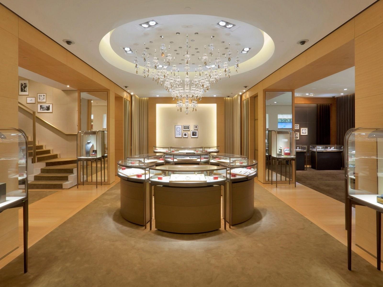 custom jewellery display cabinets OEM for shop OUYEE-4
