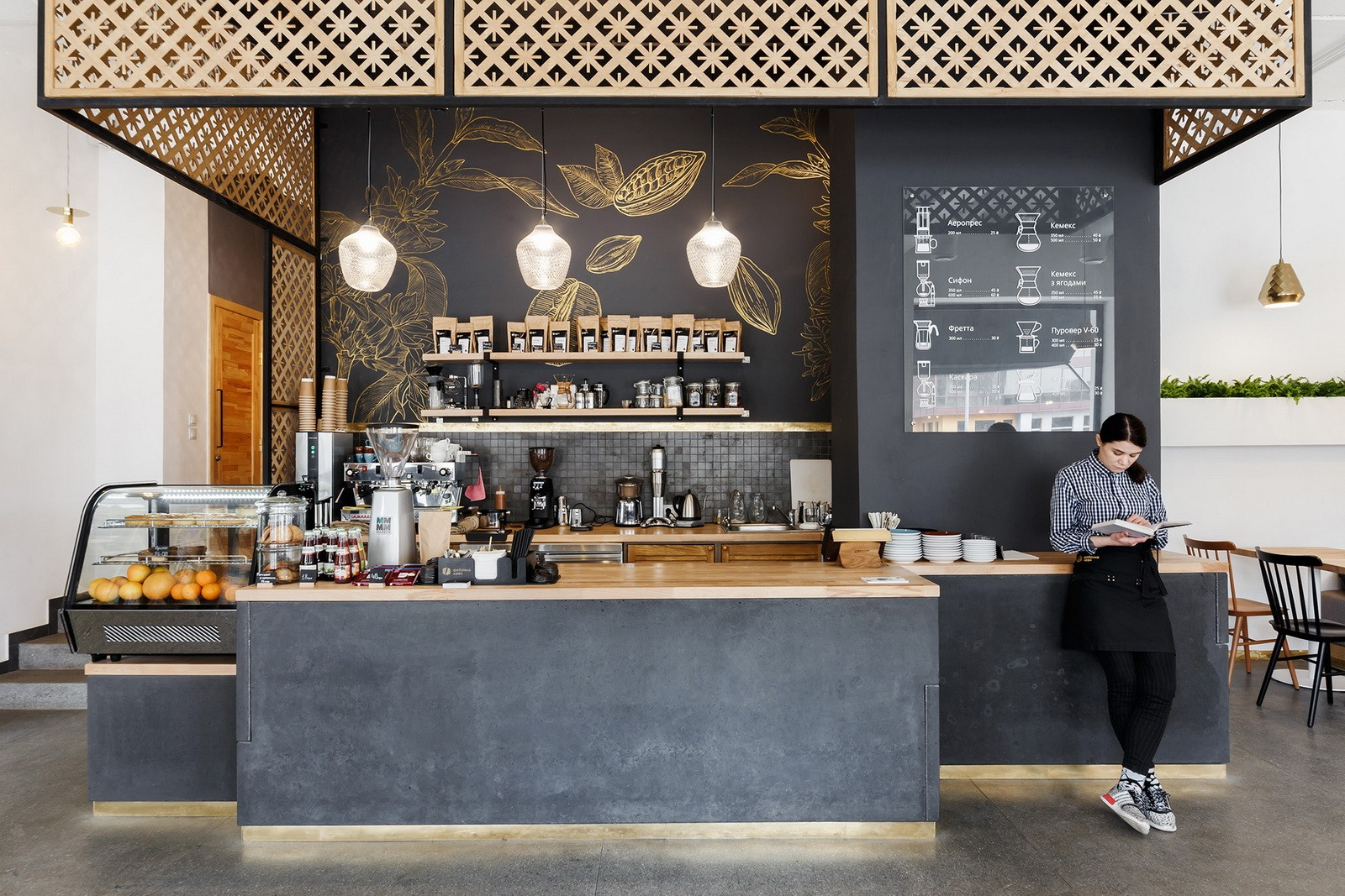 Find Coffee Counter For Sale Take Away Coffee Shop Design From Ouyee Display