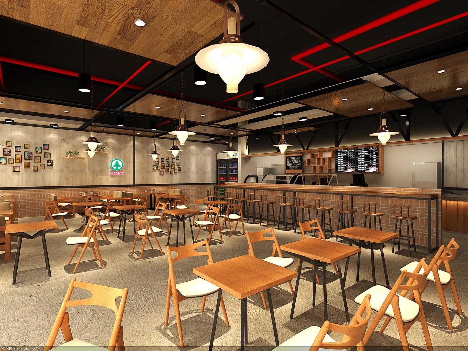 OUYEE Brand design coffee shop design commercial factory