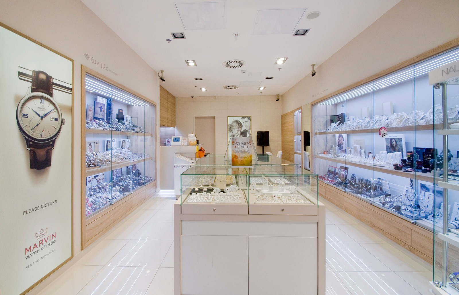 wall watch display custom for shop OUYEE-5