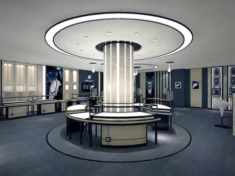 OUYEE Brand showcase commercial jewellery shop design stands factory