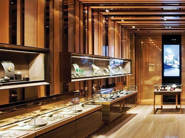 showcase furniture jewellery shop showcase design large retail OUYEE Brand