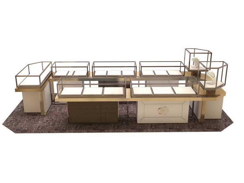 retail jewellery display cabinets commercial for store OUYEE-5