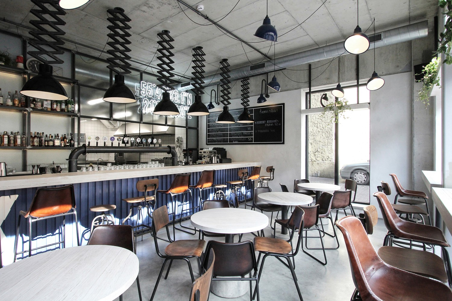 OUYEE eye-catching small cafe design bulk production for restaurant-5