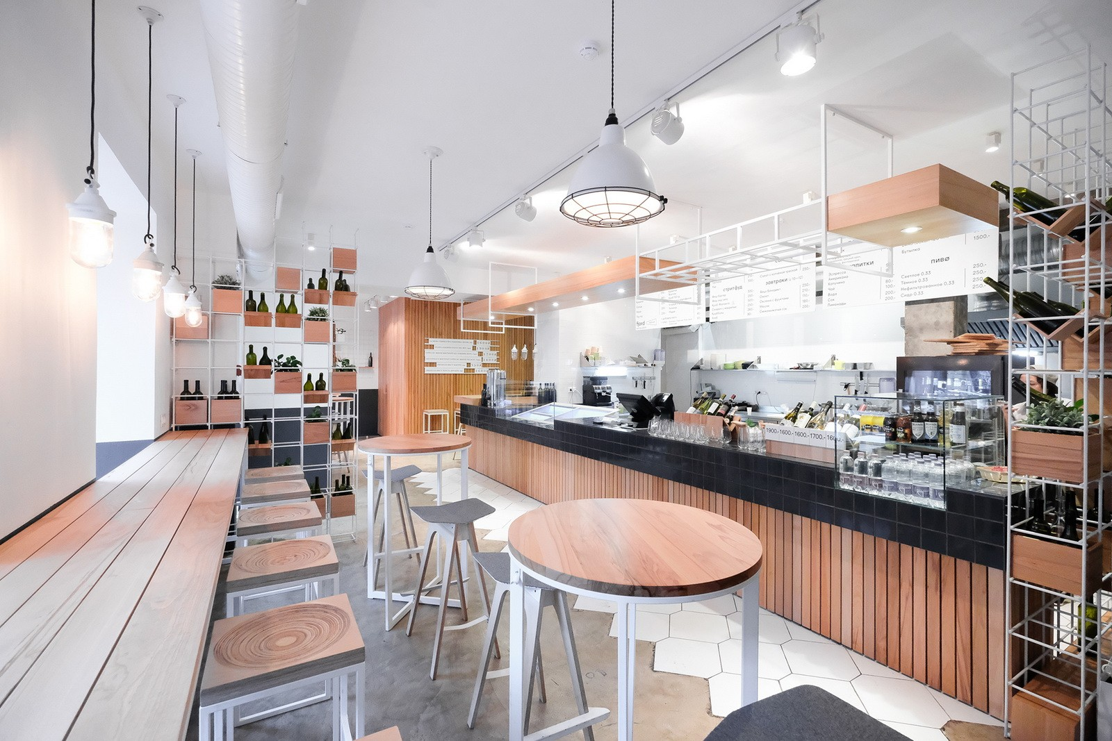 OUYEE modern small cafe design ideas bulk production for furniture-5