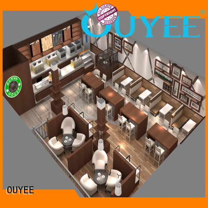 simple coffee shop design on-sale for furniture OUYEE