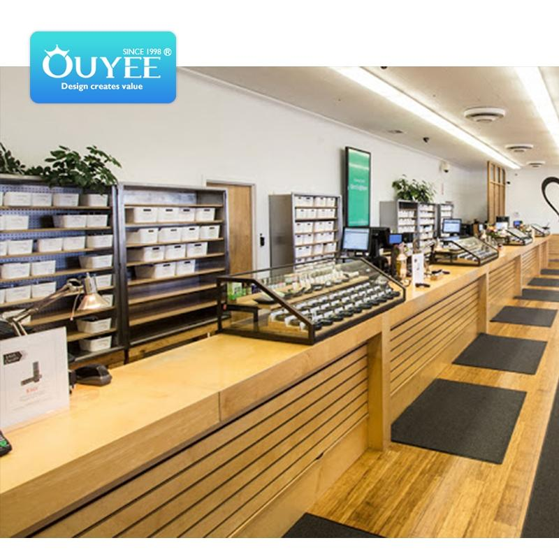 retail customized smoke shops supplies tobacco shelf