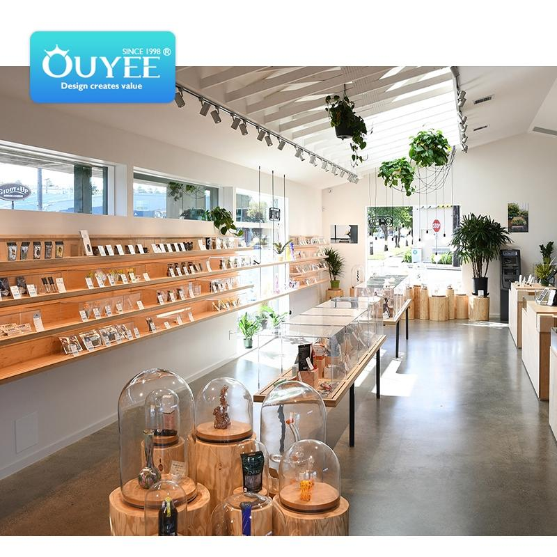 modern customized tobacco shop design smoke shop showcase