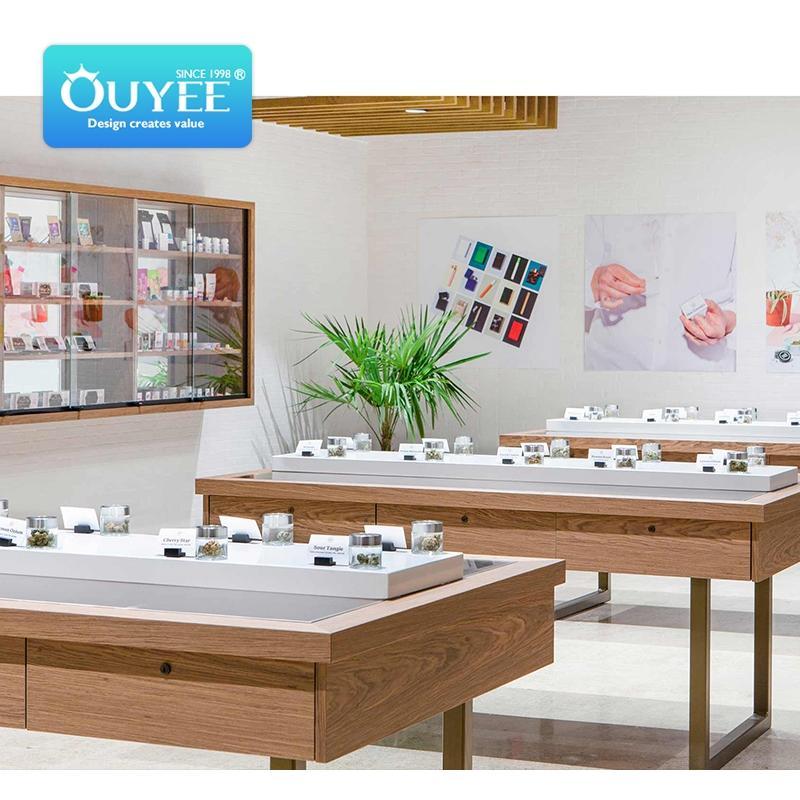 vape store decoration customized display stand
