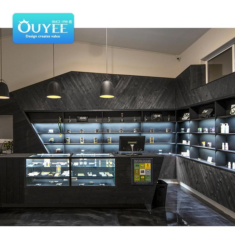 tobacco shop design vape shop fitting