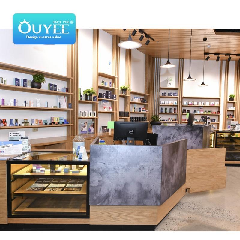 display case for smoke shop showcase