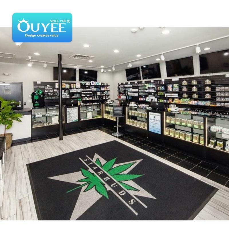 LED smoke shop display cases