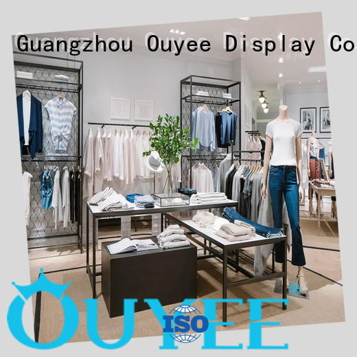 OUYEE clothing display racks for sale top brand for show room