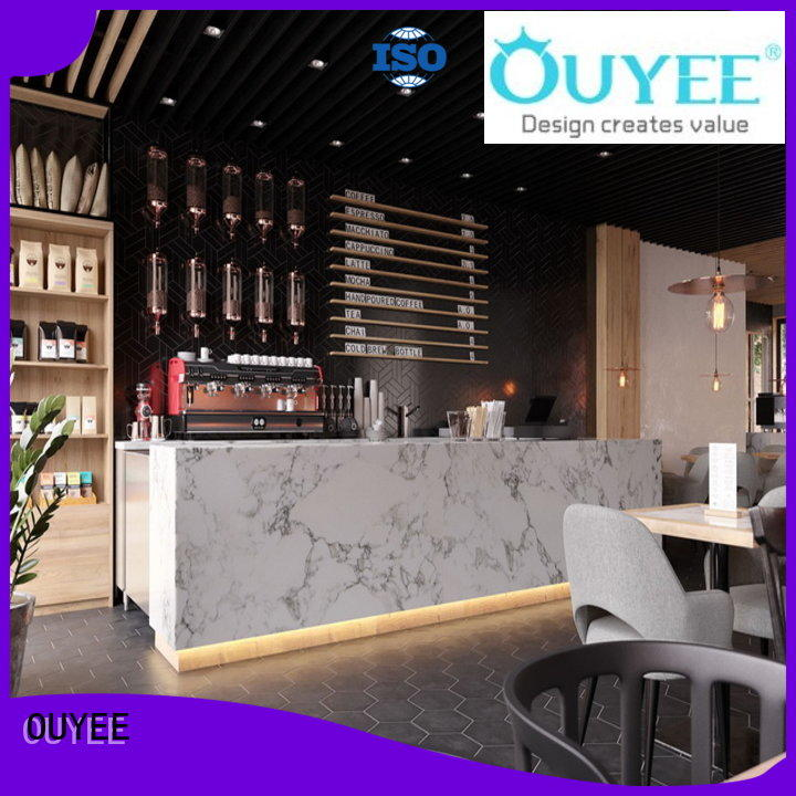 OUYEE on-sale small cafe design ideas bulk production for furniture