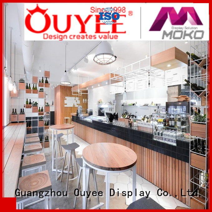 commercial bar kiosk coffee shop restaurant OUYEE company