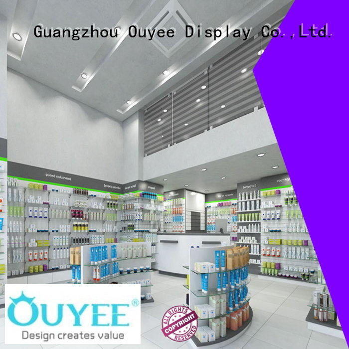 OUYEE top brand pharmacy interior fast delivery for store