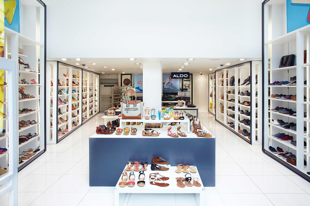 OUYEE chic shoe shop interior design popular for chain shop-2