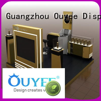 Wholesale fragrances perfume rack stand retail OUYEE Brand