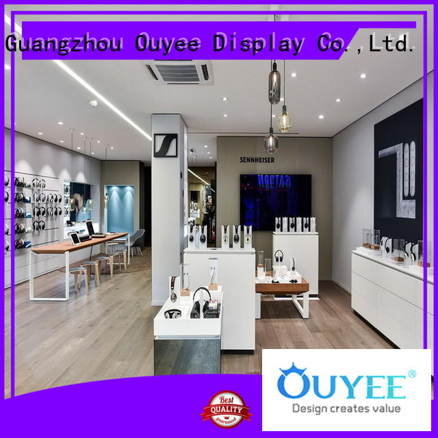 showcase mobile phone display rack fast installation for store OUYEE