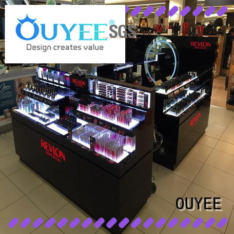 OUYEE durable cosmetic store display at discount for decoration