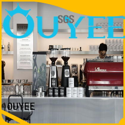 OUYEE Brand counter coffee shop design restaurant factory