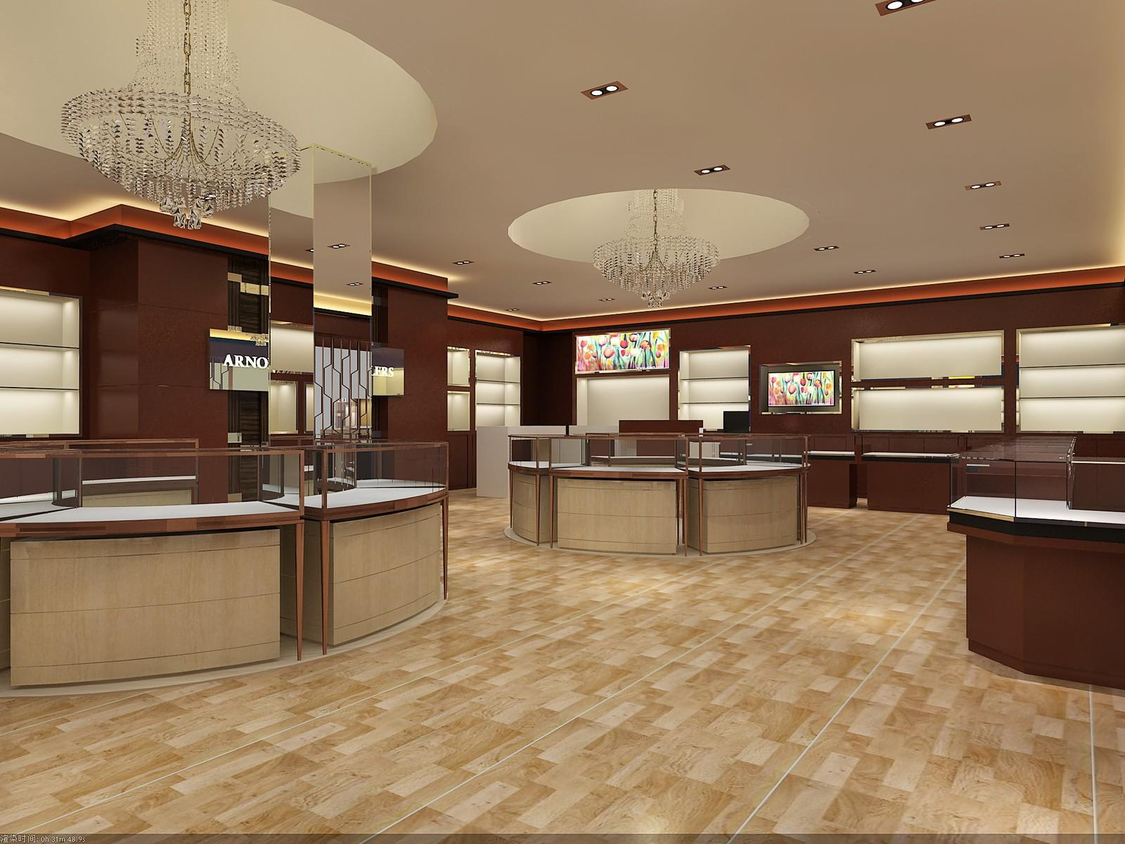 OUYEE chic style latest jewellery showroom design OEM for shop-2