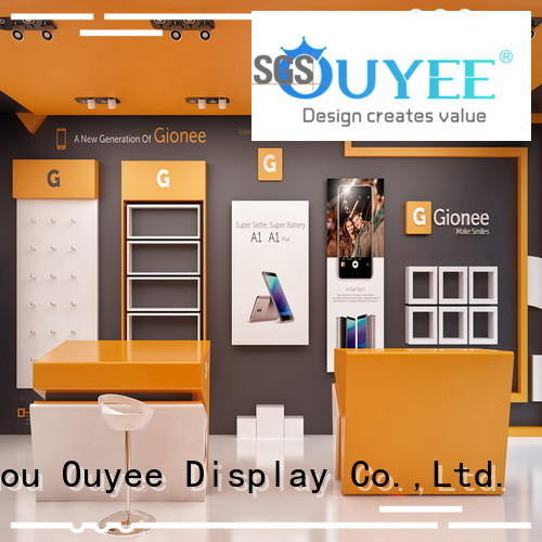 OUYEE electronic shop interior design fast delivery for decoration
