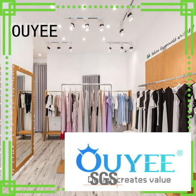 fast installation retail clothing display high quality at discount for show room