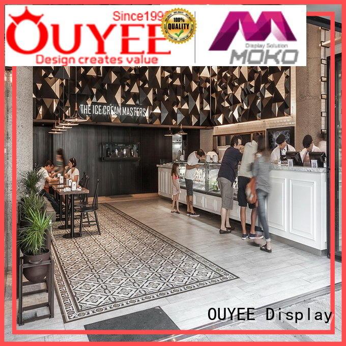 OUYEE best design coffee shop design ideas bulk production for club