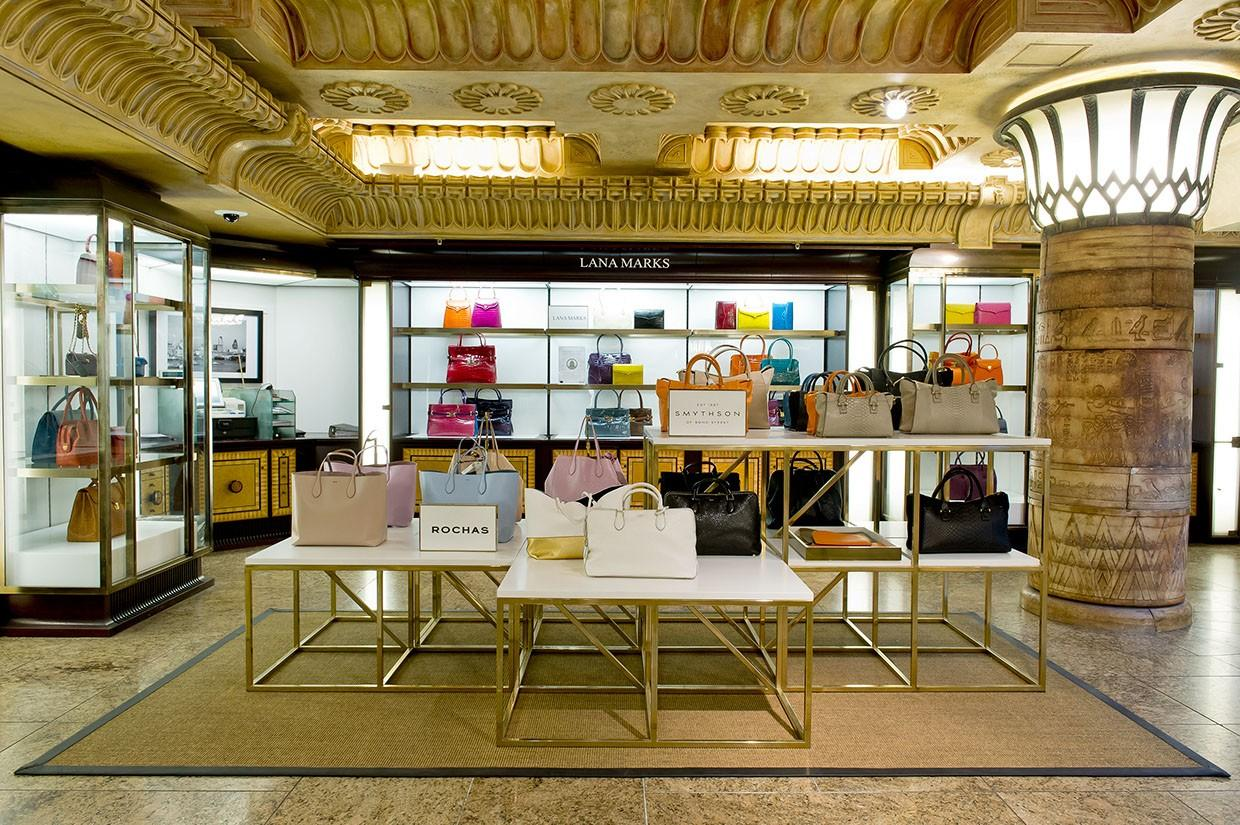 OUYEE chic shoe shop interior design eye-catching for business-2
