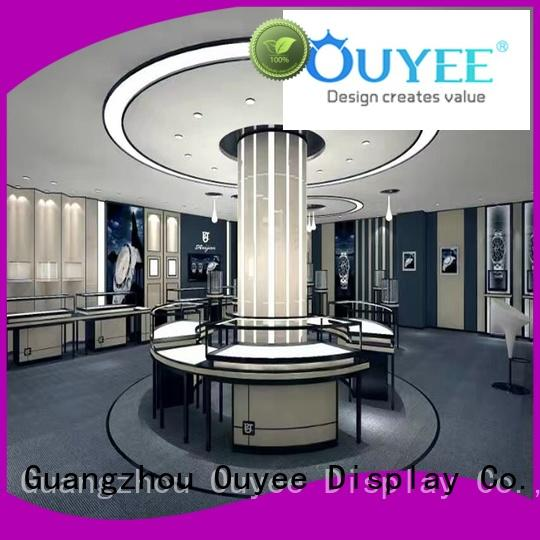 Quality OUYEE Brand jewellery retail jewellery shop design