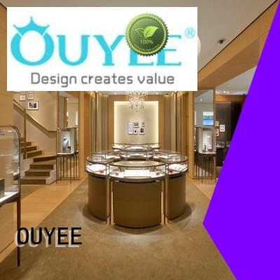 display ideas jewellery shop showcase design table large OUYEE Brand