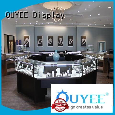 table design jewellery shop design floor OUYEE company
