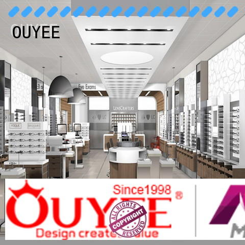 OUYEE custom store display fixture supplier for shop