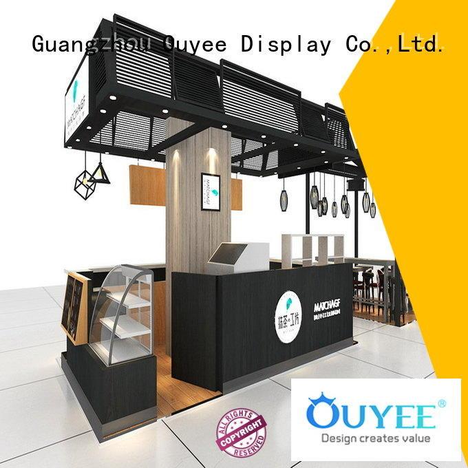 OUYEE Brand cafe decor ideas kiosk coffee shop