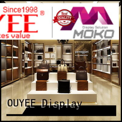 wall shelf design OUYEE Brand shoe cabinet furniture factory