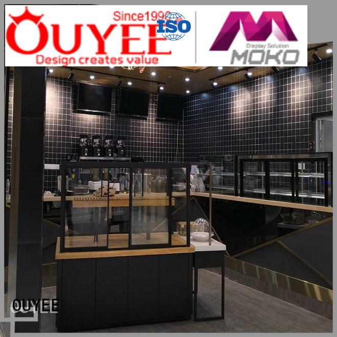 furniture Custom design modern coffee shop design OUYEE sale