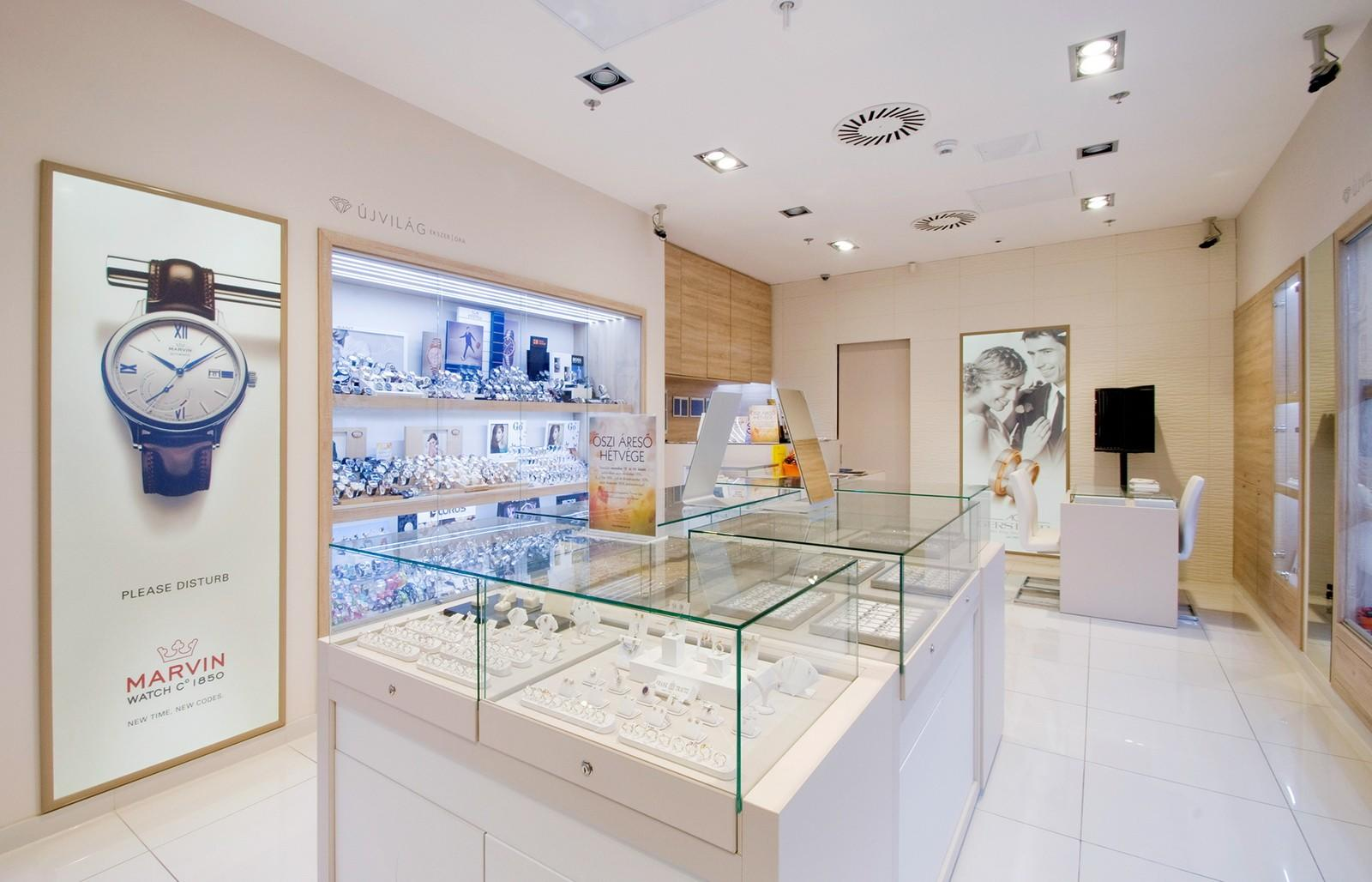 wall watch display custom for shop OUYEE-1