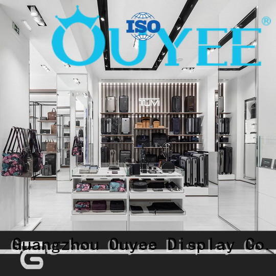 OUYEE high-quality sneaker wall display commercial for chain shop