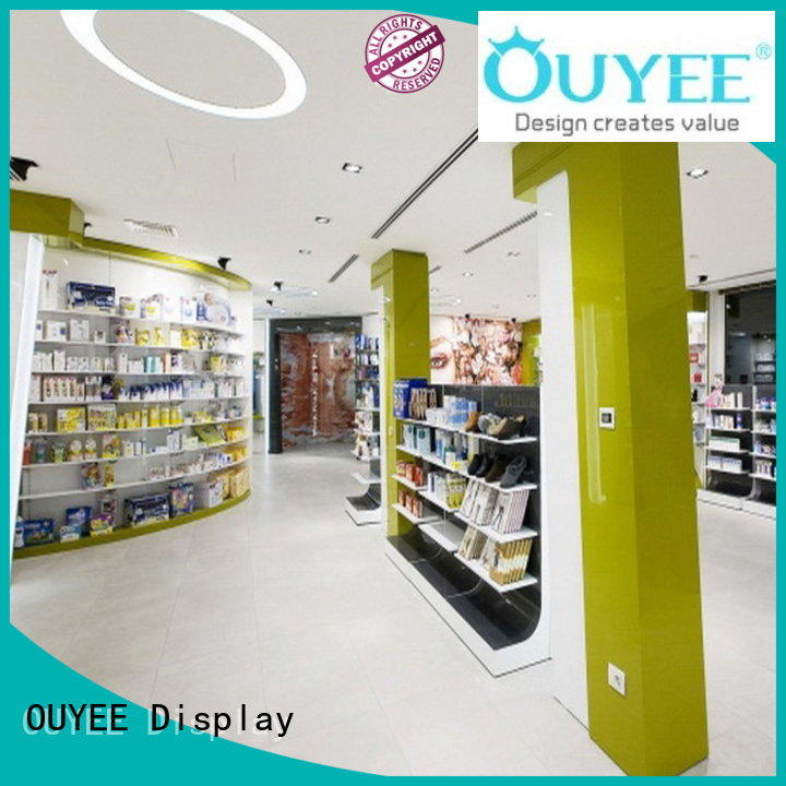 decoration retail display pharmacy counter store OUYEE Brand