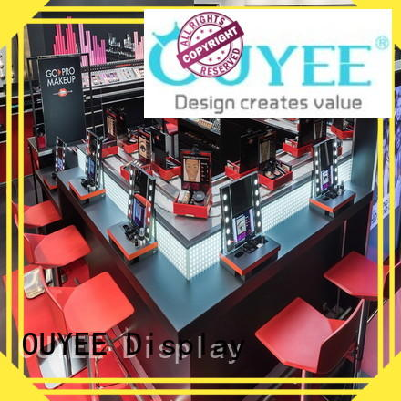 OUYEE newest makeup display cheapest factory price for wholesale