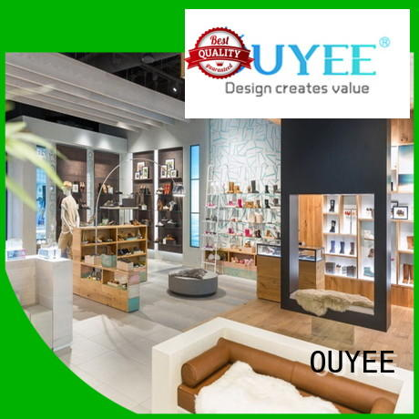 shoe cabinet furniture boutique sale OUYEE Brand
