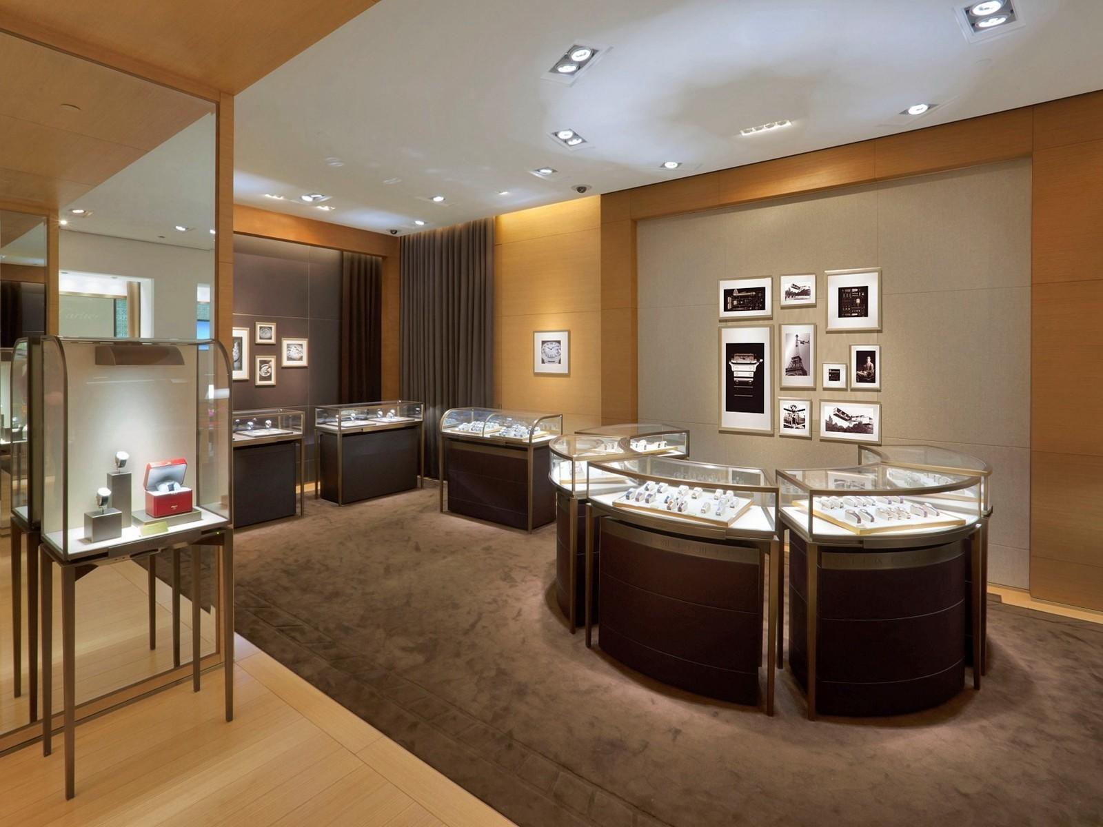 custom jewellery display cabinets OEM for shop OUYEE-2
