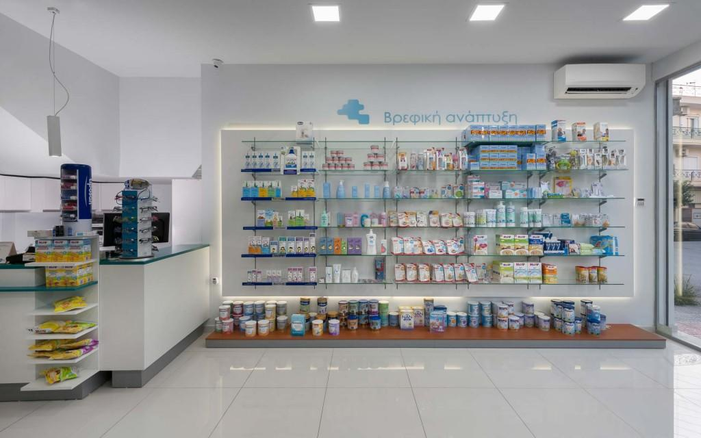 OUYEE durable medical store design fast installation for store-3
