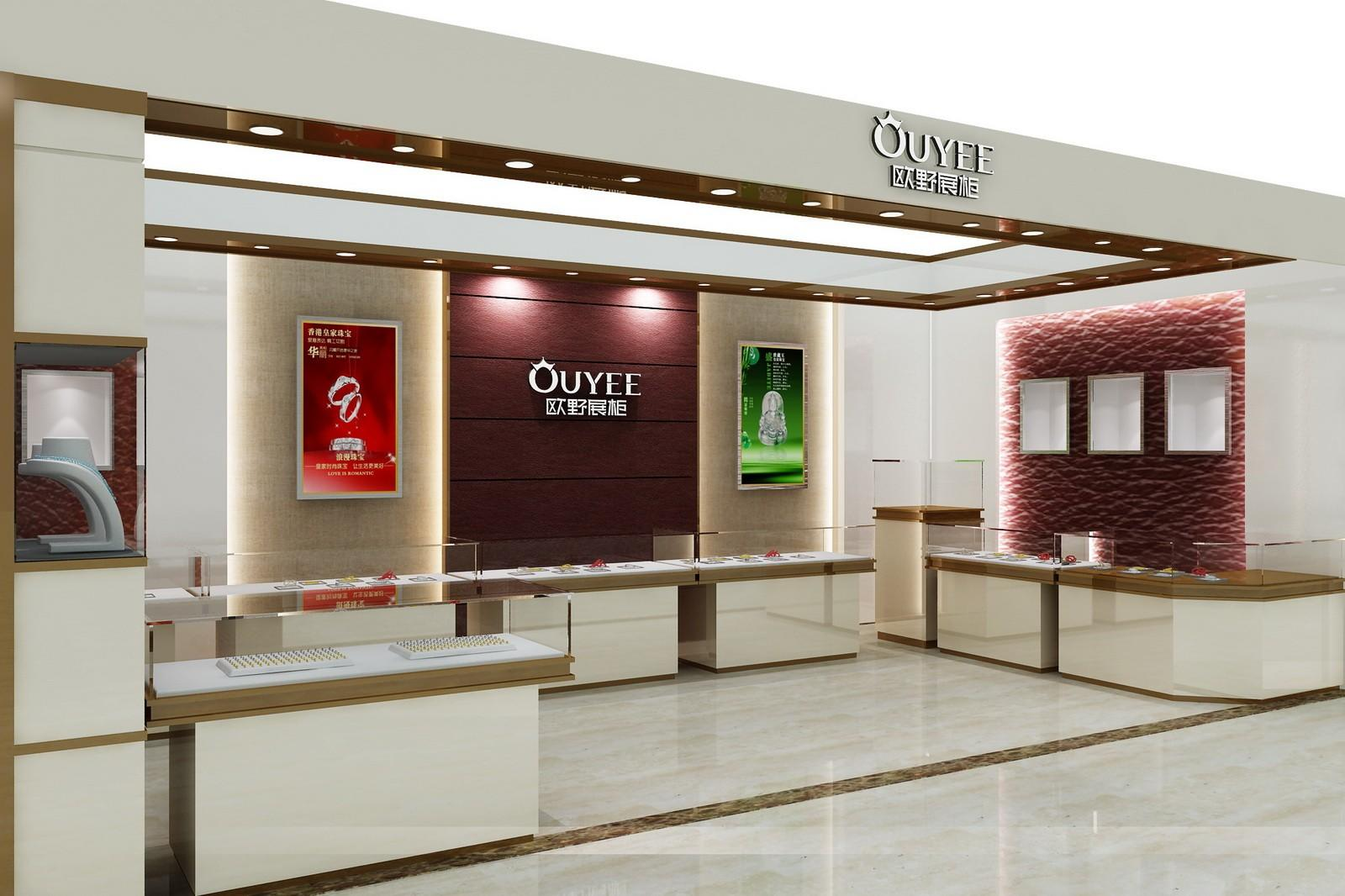 latest jewellery window display commercial for wholesale OUYEE-1