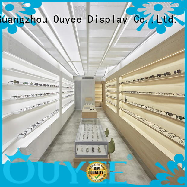OUYEE universal glass showcase high quality for store